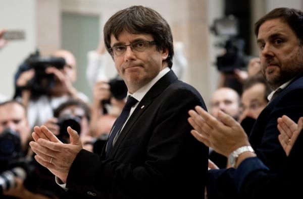 Экс-лидер Каталонии Карлес Пучдемон освобожден вГермании под залог