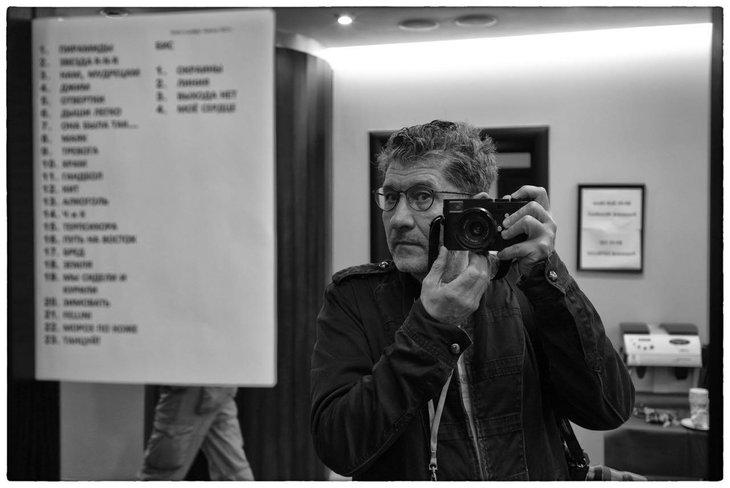 На ROCK FM придет фотограф Игорь Верещагин