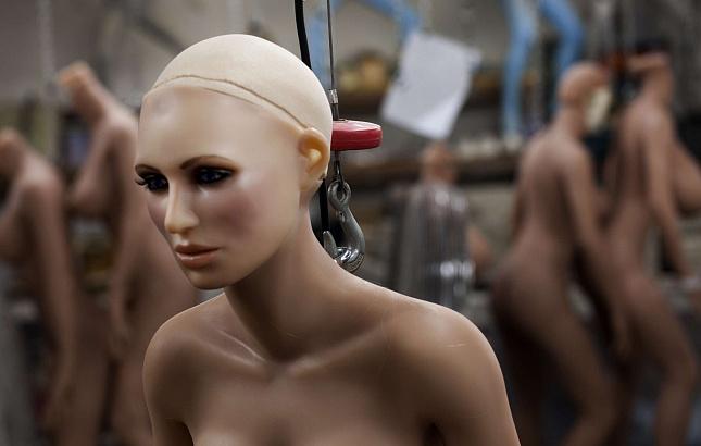 Секс робот в деле