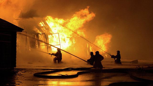 Открытое горение натерритории ООО«Лукойл Нижегороднефтеоргсинтез» вКстове Нижегородской области устранено