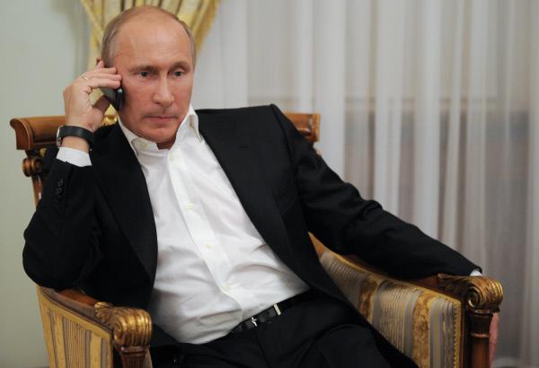 Трамп иПутин говорили около 50 мин.