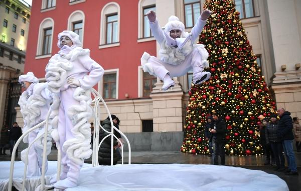 Фестиваль «Путешествие вРождество» будет радовать жителей столицы еще неделю