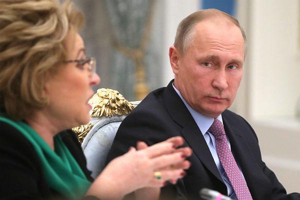 Совфед поддерживает введение ответных санкций против США