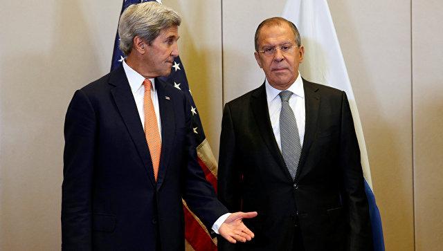 Лавров иКерри пришли ксоглашению посирийскому вопросу