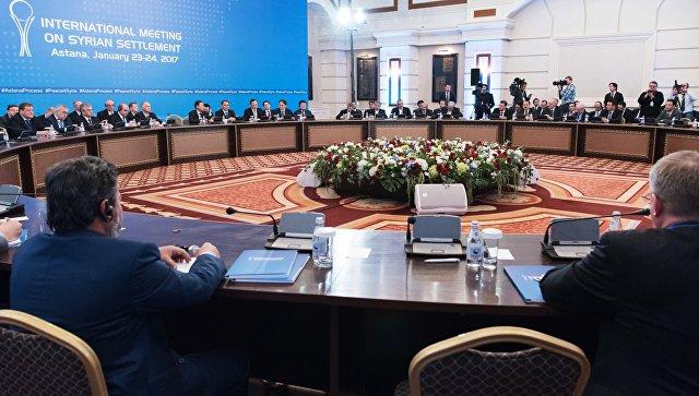 США небудут участвовать впереговорах поСирии вАстане