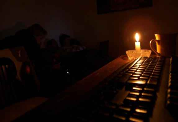 Укрэнерго навсе 100% прекратила электроснабжение неподконтрольной территории Луганской обл.
