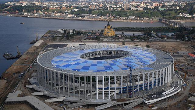 Смотреть Стадион в нижнем новгороде к чм 2019 года - КалендарьГода видео
