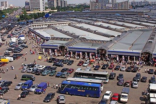 На месте Черкизовского рынка