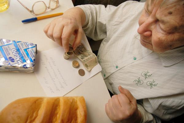 В прошлом году граждан России впервую очередь волновали бедность и небольшие заработной платы