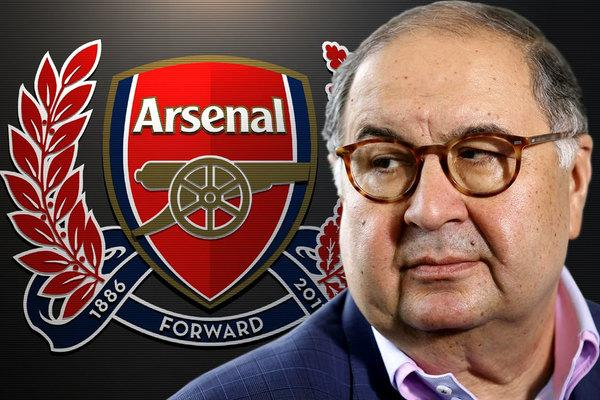 Алишер Усманов реализовал акции английского «Арсенала»