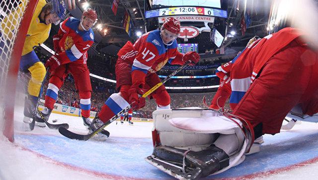 Русские хоккеисты в европе
