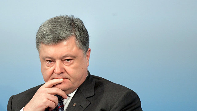 Порошенко обвинил Россию в оккупации Азовского моря