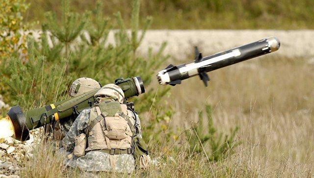 Пентагон направил вБелый дом рекомендацию поставить Украине противотанковые комплексы Javelin