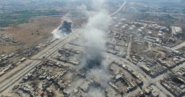 Госдепартамент обвинил Россию и/или Сирию в авиаударах в провинции Идлиб