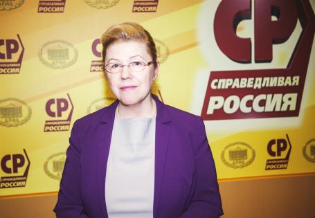 Мизулина покинула ряды «Справедливой России»
