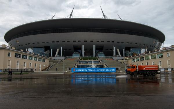 «Газпром» снесет вип-ложи стадиона наКрестовском острове