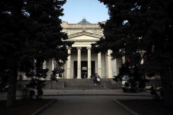 ГМИИ им.А. С. Пушкина будет работать бесплатно 31мая