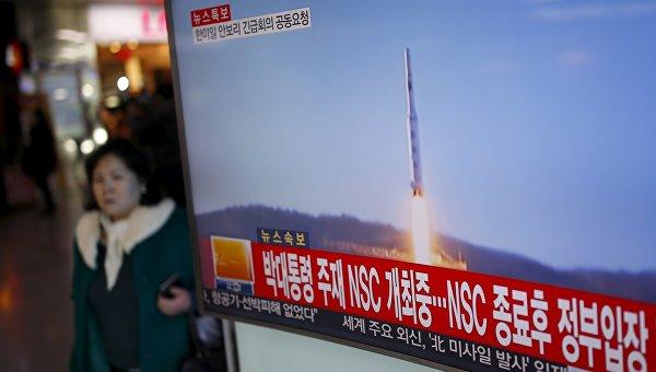 Пентагон поведал, куда упала ракета Северной Кореи