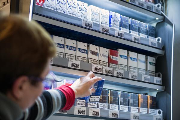 Минздрав объявил оразработке системы маркировки табачной продукции