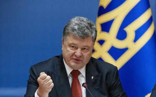 Толпа украинцев прогнала Порошенко скриками «Брехло!» и«Позор!»
