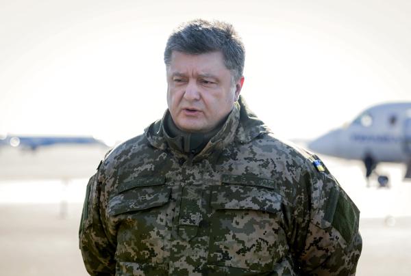 Порошенко внес вВерховную раду законодательный проект ореинтеграции Донбасса