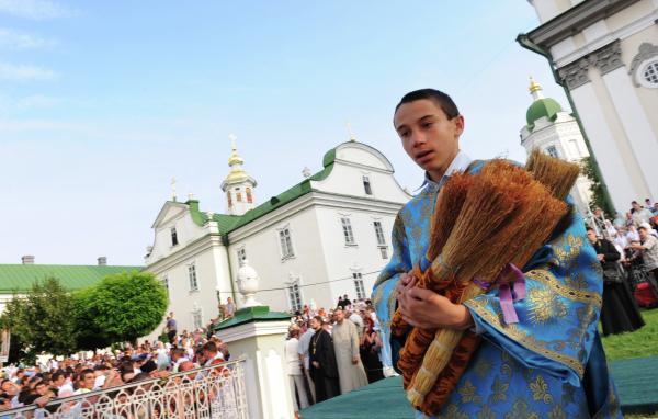УУПЦ Московского патриархата отняли Почаевскую лавру