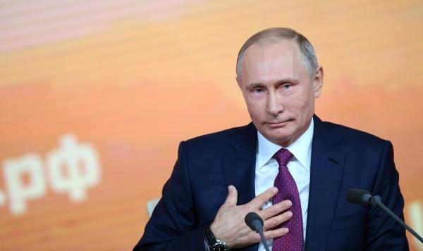 Путина официально выдвинули впрезиденты России