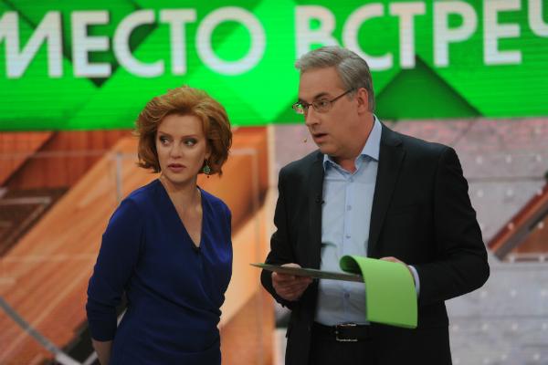 Ведущий НТВ Андрей Норкин подрался впрямом эфире сукраинским экспертом