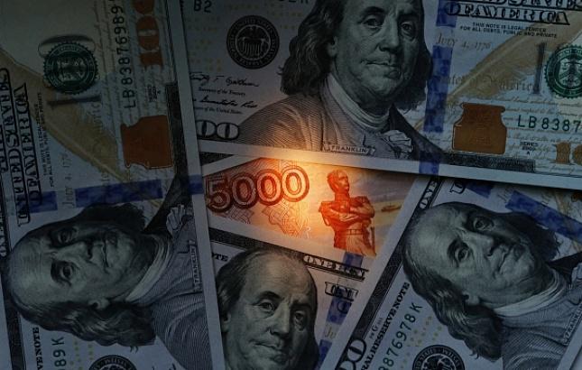 Настоящий результативный курс рубля в прошлом году снизился на6,9%