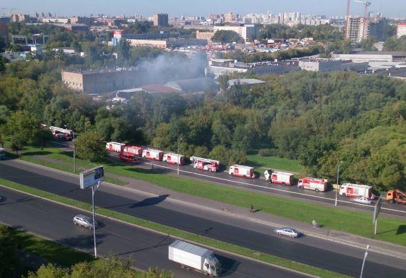 В столице России вмасштабном пожаре погибло 17 мигрантов