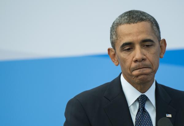 Обама обратился к жителям Америки  спрощальной речью