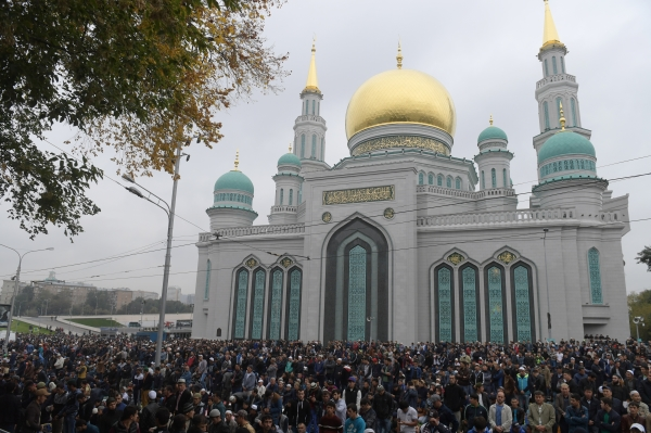 Росгвардия обеспечила охрану порядка в столице России напразднике Ураза-байрам