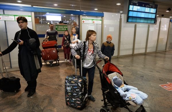 Вростовском аэропорту Платов сработала пожарная сигнализация