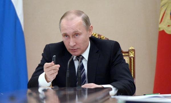 Путин обсудил счленами Совбеза Украинское государство иДонбасс