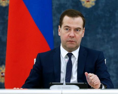Медведев: экономика Российской Федерации вошла встадию роста