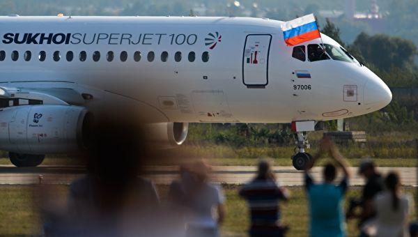 Вевропейских странах отказались от русских самолетов Sukhoi SuperJet 100