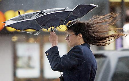 В столицеРФ объявлена «потенциально опасная» погода