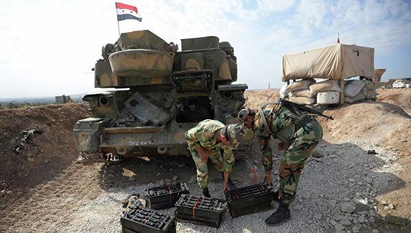 Сирийская армия вошла вМанбидж