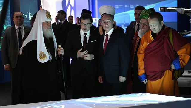 ВМанеже покажут «Россию, устремленную вбудущее»