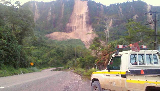 ВПапуа-Новой Гвинее случилось землетрясение магнитудой 6,7