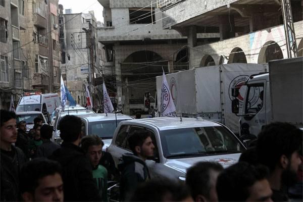 Более 11 тыс. мирных граждан покинули Восточную Гуту наименее чем засутки