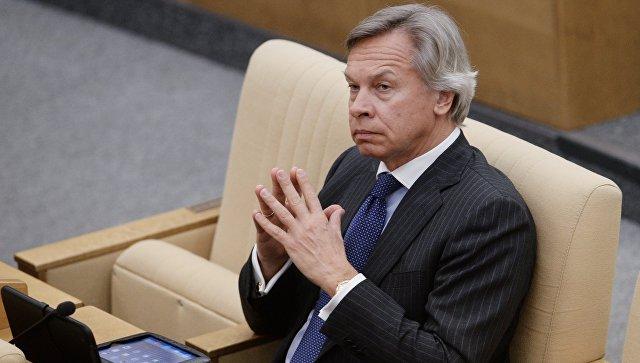 Пушков признал «пустой затеей» намерение государства Украины расширить вещание вКрыму