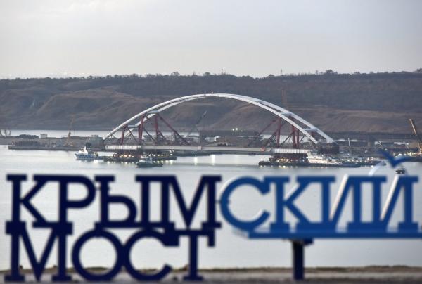 Первым поКрымскому мосту проедет ПрезидентРФ Владимир Путин