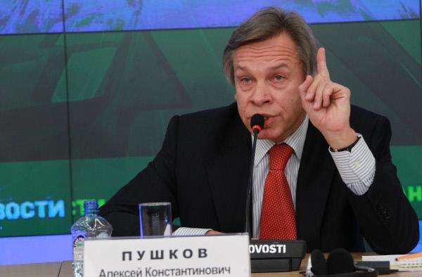 Пушков осадил Мэй заееобвинения вадрес РФ— Миропорядок себя изжил