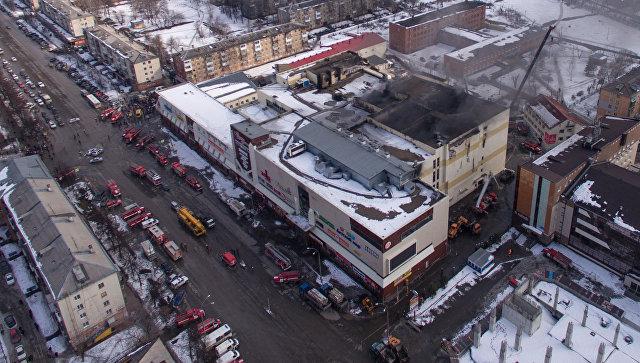 Фотограф спас 30 детей изгорящего торгового центра