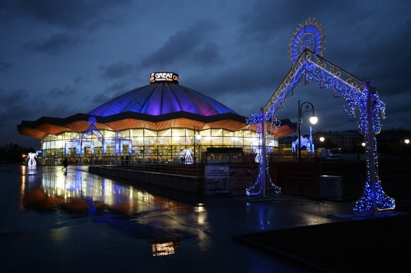 В столицеРФ открылся VВсемирный фестиваль циркового искусства «Идол»