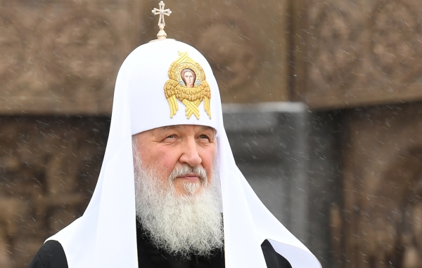 Патриарх Кирилл поздравил сРождеством космонавтов наМКС