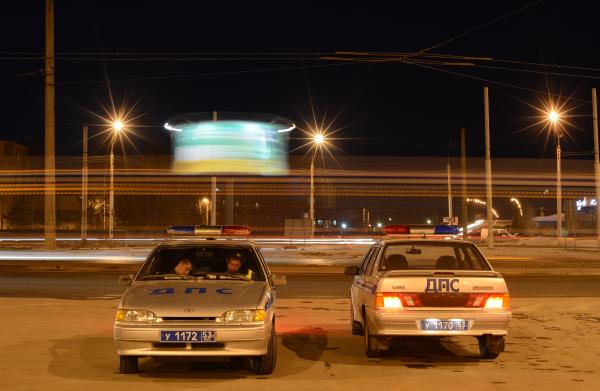 Двое полицейских пострадали вДТП спатрульной машиной вКраснодаре