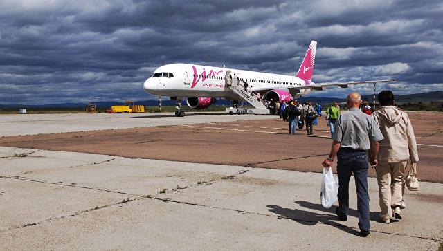 Самолет Уфа— Сочи вылетел после 12-часовой задержки