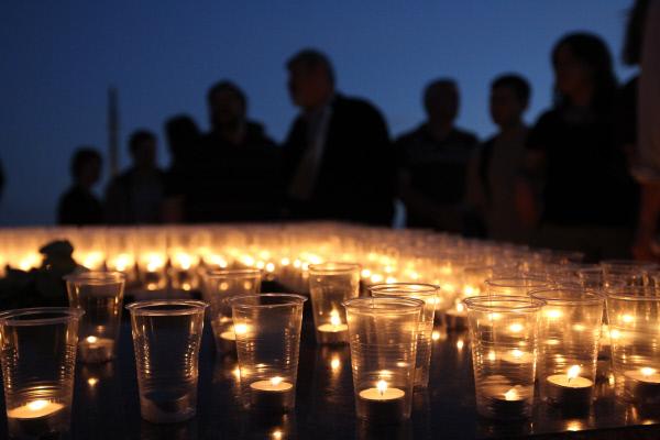 В российской столице началась акция памяти жертв теракта вПетербурге